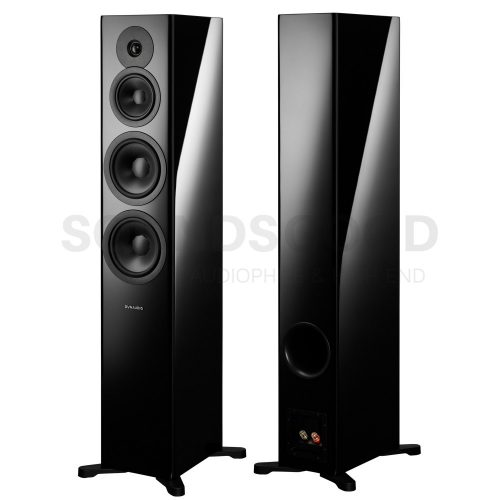 Dynaudio Evoke 50 audiophile álló hangfal - Black High Gloss