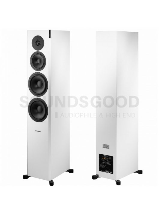 Dynaudio Focus 60 XD High End álló aktív hangfal - High-Gloss White Lacquer