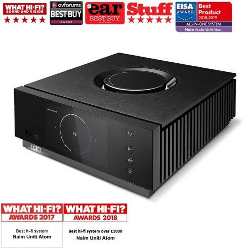 Naim Uniti Atom All-in-One Player (HDMI) - Audiophile integrált sztereo erősítő / Streamer