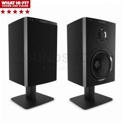 Dynaudio XEO 10 aktív hangfal + Dynaudio Desk Stand asztali álvány (Fekete)