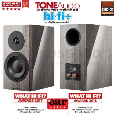 Dynaudio Special Forty - Grey Birch/Black - Sounds Good - Audiophile & High  End - Speakers & Amplifiers