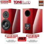Dynaudio Special Forty állványos hangfal - Red Birch/Black