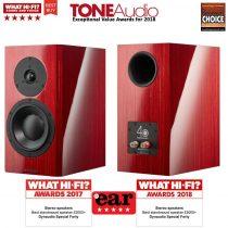 Dynaudio Special Forty állványos hangfal - Red Birch/Black