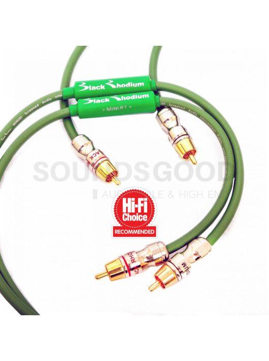 Black Rhodium Minuet analóg összekötő kábel 2 x 1,0 m