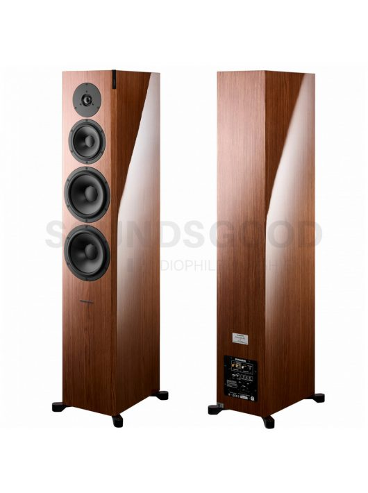 Dynaudio Focus 60 XD High End álló aktív hangfal - High-Gloss Walnut veneer