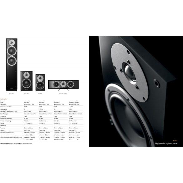 Dynaudio Emit M10 állványos hangfal - Satin White