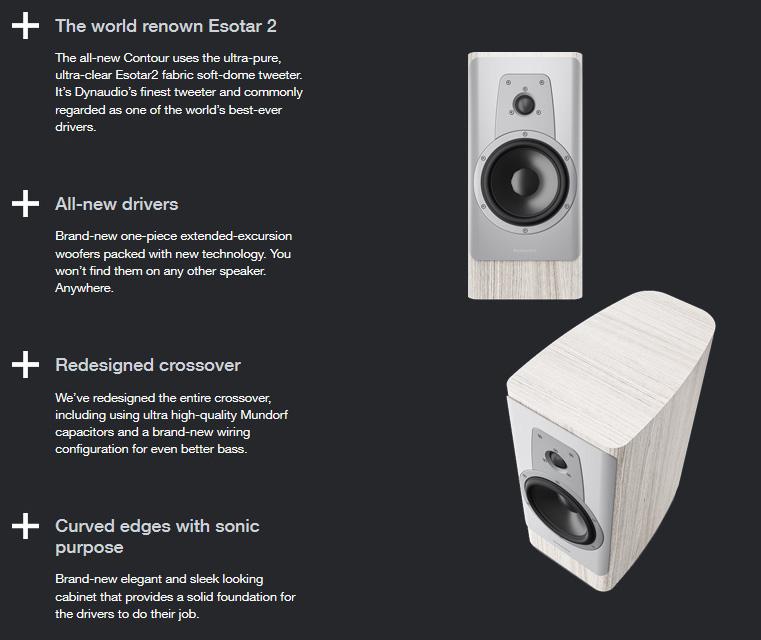 Dynaudio Contour 20 hangfal az ÚJ Dynaudio Contour hangfal család állványos hangsugárzója, mely high-end minőségben szólaltatja meg kedvenc tartalmait, forrástól függetlenül.