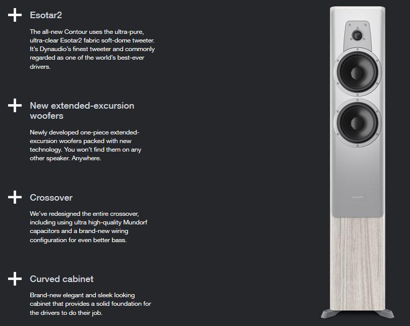 Dynaudio Contour 30 hangfal az ÚJ Dynaudio Contour hangfal család kisebb álló hangsugárzója, mely high-end minőségben szólaltatja meg kedvenc tartalmait, forrástól függetlenül.