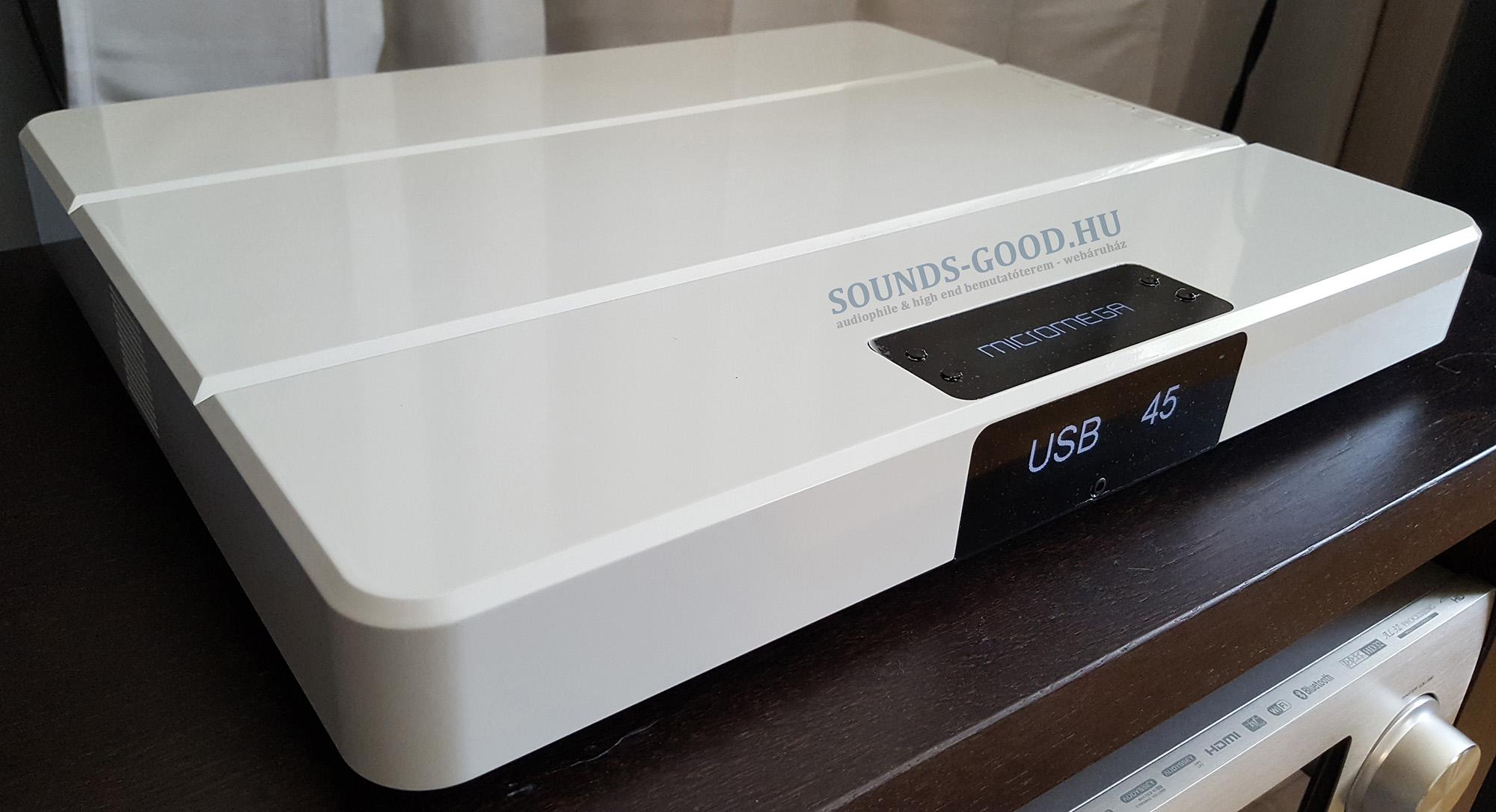 Micromega M-ONE 100 High End integrált sztereó erősítő / DSD DAC / Hálózati zene lejátszó